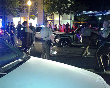 Multi-county police chase ends in NW D.C.