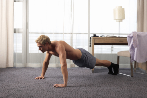 The fit traveler: Workouts for when you're on-the-go