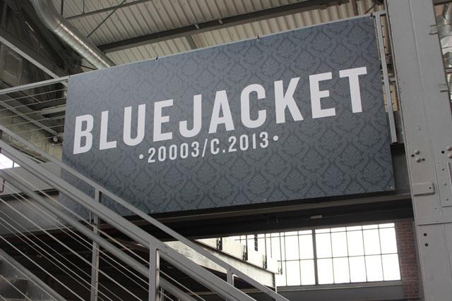 Bluejacket brewery gears up for October debut