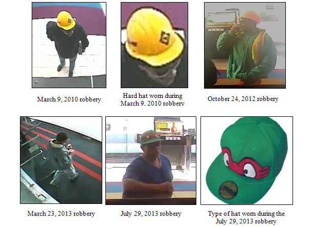 FBI: 'Beacon Hill Bandit' robbed same Alexandria bank four times
