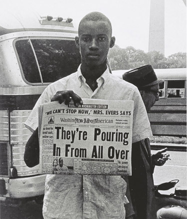 Rare photos from the March on Washington displayed