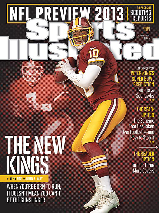 Robert Griffin III featured on Sports Illustrated cover