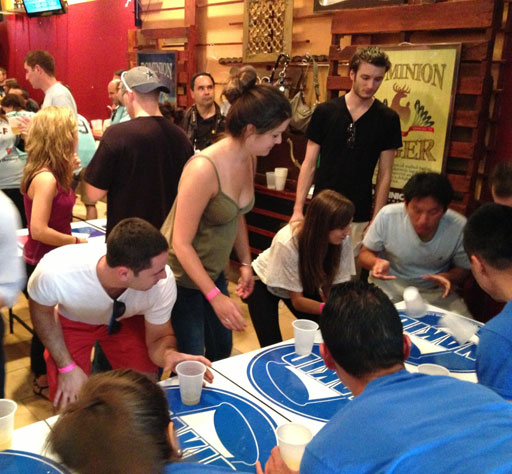 World Series of Flip Cup tosses cups for charity in D.C.