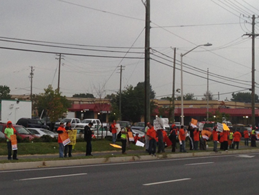 Trash workers strike in Montgomery County