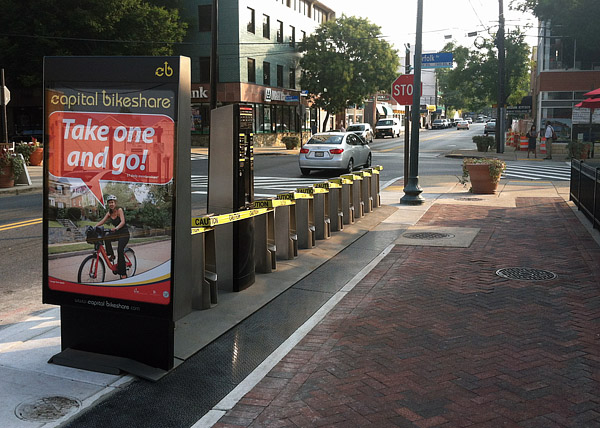 Capital Bikeshare coming to Montgomery County at end of September