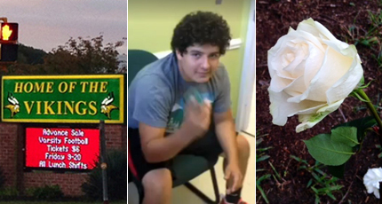 12 arrested after stabbing death of Va. high school student