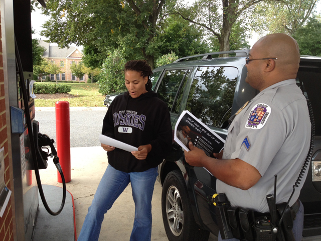 Prince George's police: Lock up while gassing up