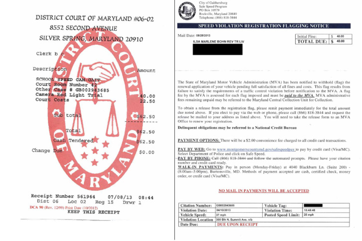 Ticket error blocks md woman from renewing registration for Gaithersburg motor vehicle administration gaithersburg md