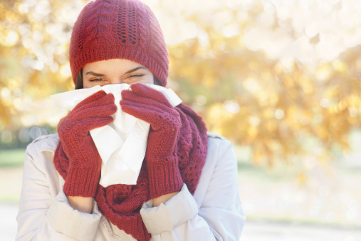 Study: Mom was right — put on a scarf to avoid catching cold