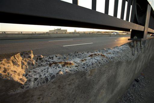 AP IMPACT: Many U.S. bridges old, risky and rundown