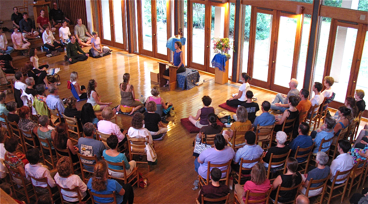 Expert introduces mindfulness meditation to Montgomery Co. students, parents
