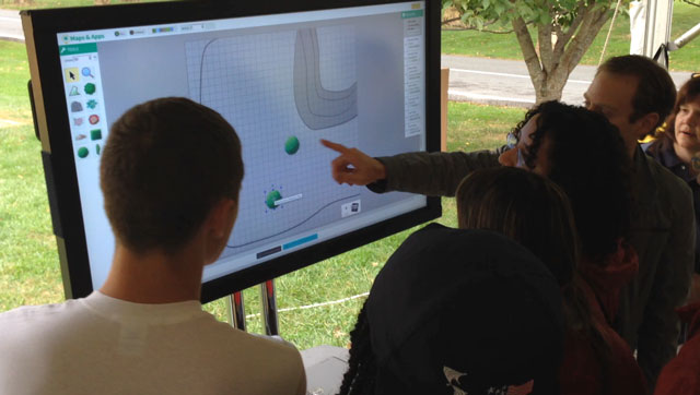 Students learn digital mapping skills, target jobs