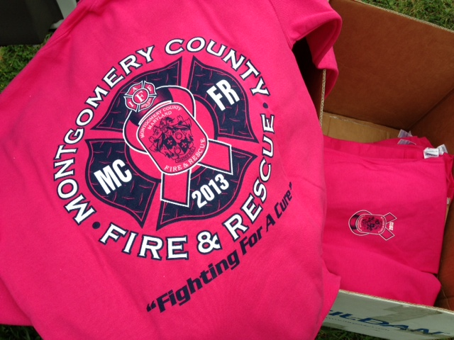 Tough In Pink Firefighters Fundraiser For Breast Cancer Awareness