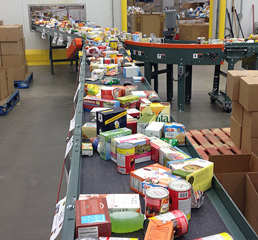 Local food banks could see demand spike if shutdown lingers
