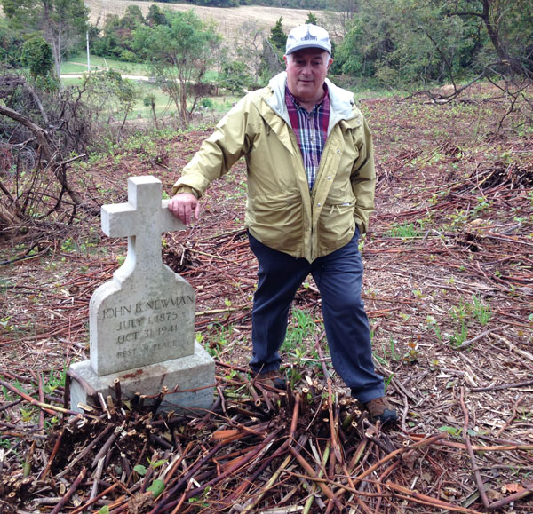 Goats successfully uncover graves at Md. cemetery