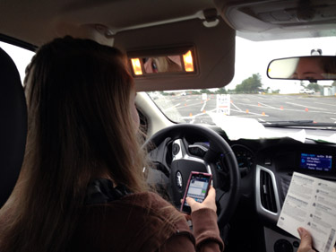 Teen drivers learn to overcome tough situations on the road