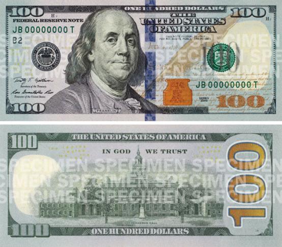 One Dollar Bill Apollo 11