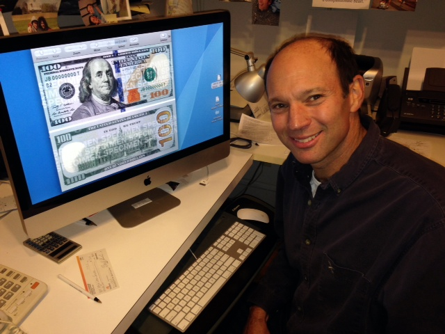 Md. man cashes in on opportunity to help design new $100 bill