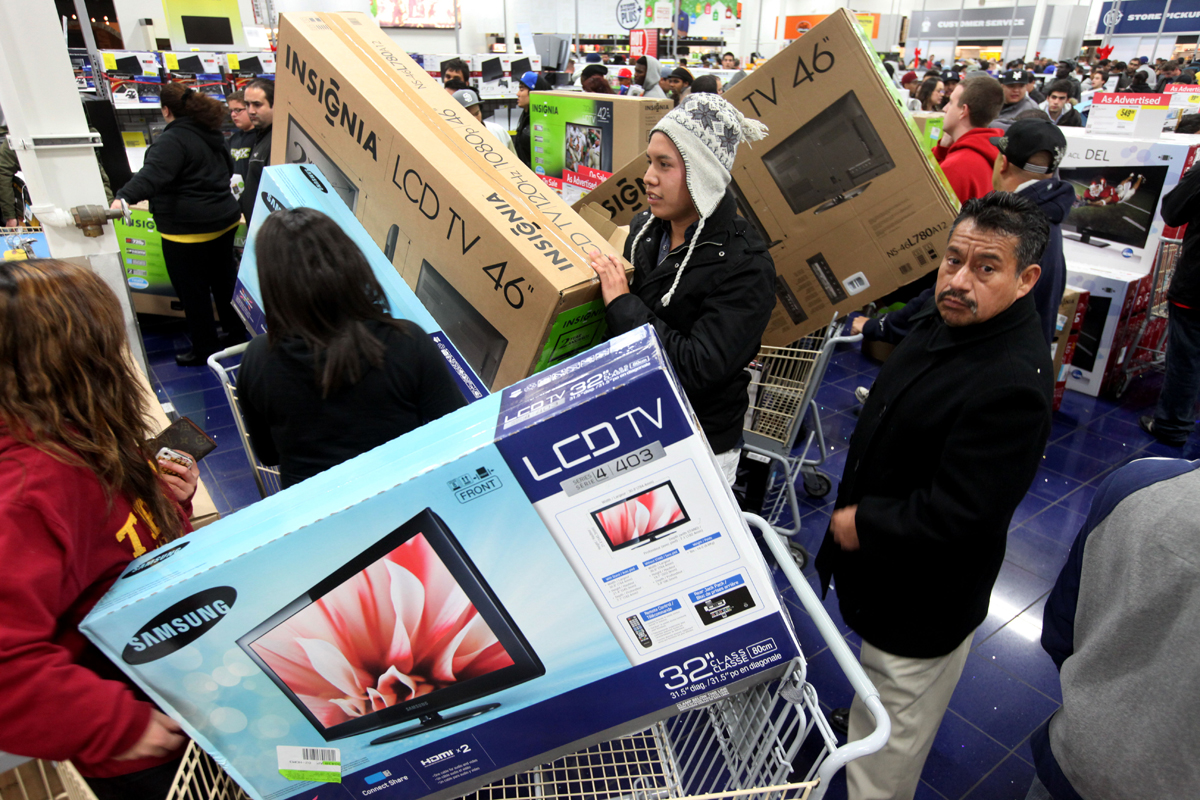 Survey: Who is most likely to shop on Black Friday