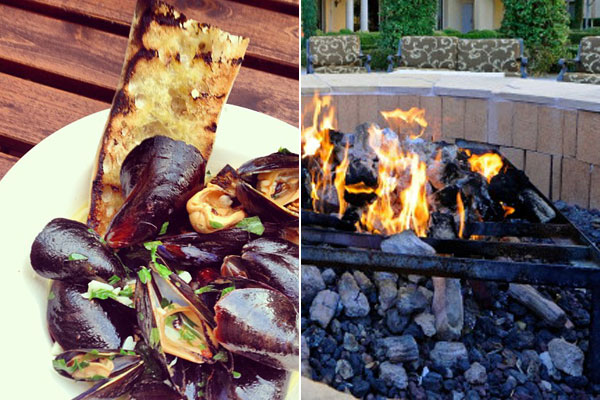 Dining al fresco: The top 5 restaurants with fire pits