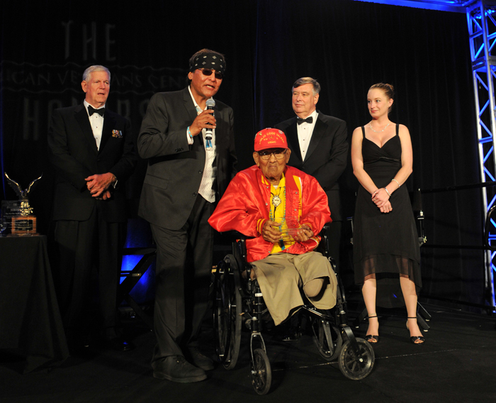 War heroes honored at 'Oscars for veterans'