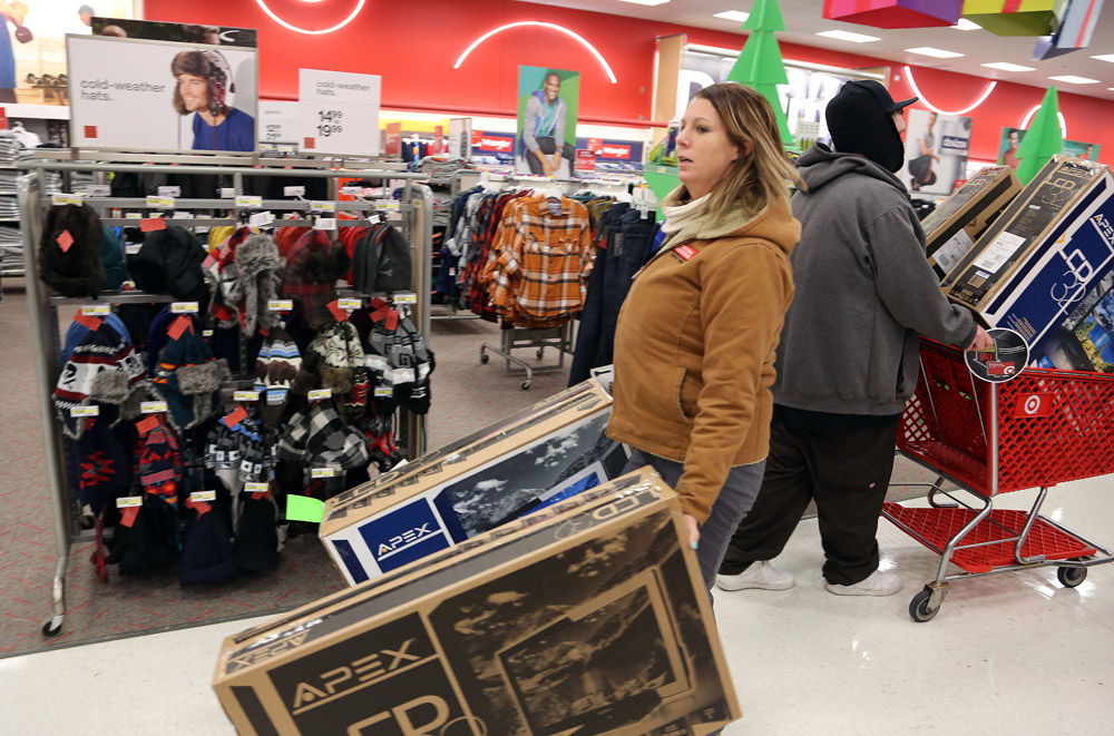 Target, Kmart to stay open longer on Thanksgiving