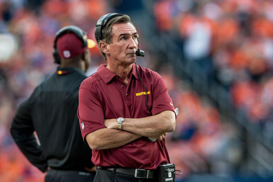 Shanahan's future may hinge on Redskins' second half