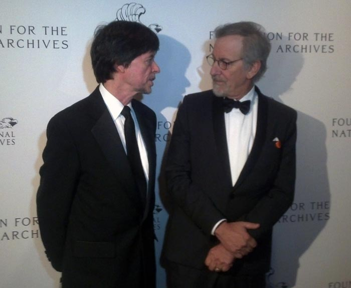 Steven Spielberg honored at the National Archives