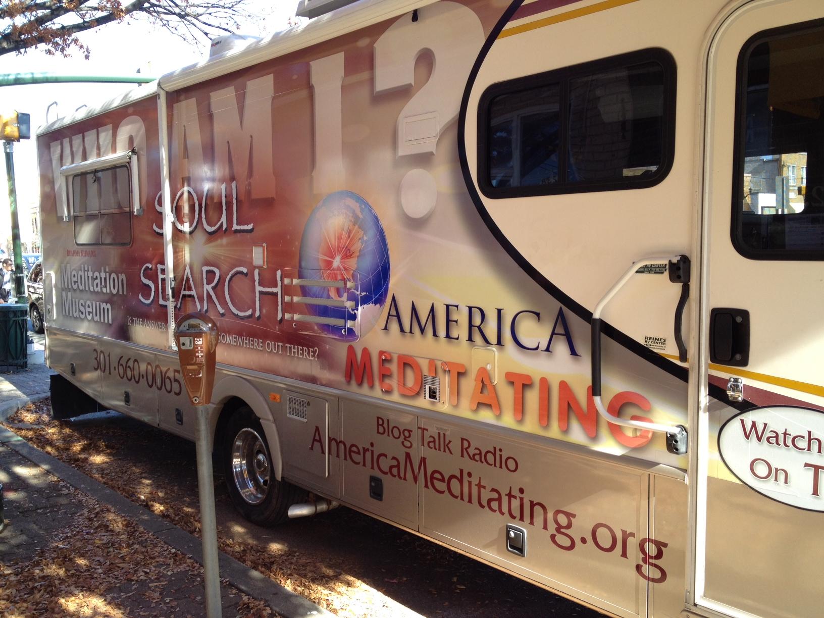 Meditation Museum RV rolls through Silver Spring for Thanksgiving parade