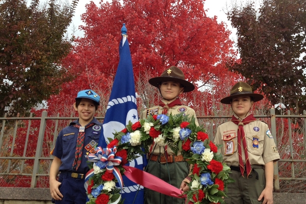 Local Scouts, generations pay respect to JFK at Arlington