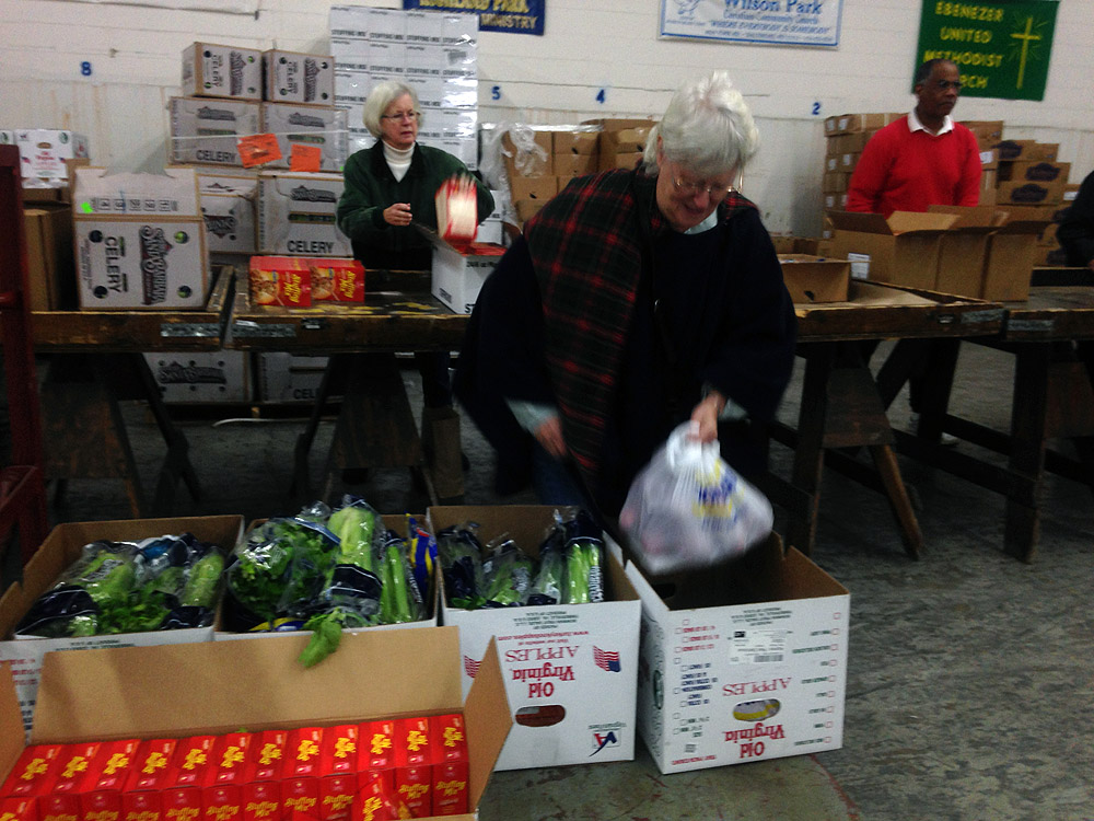 Feeding the hungry this holiday