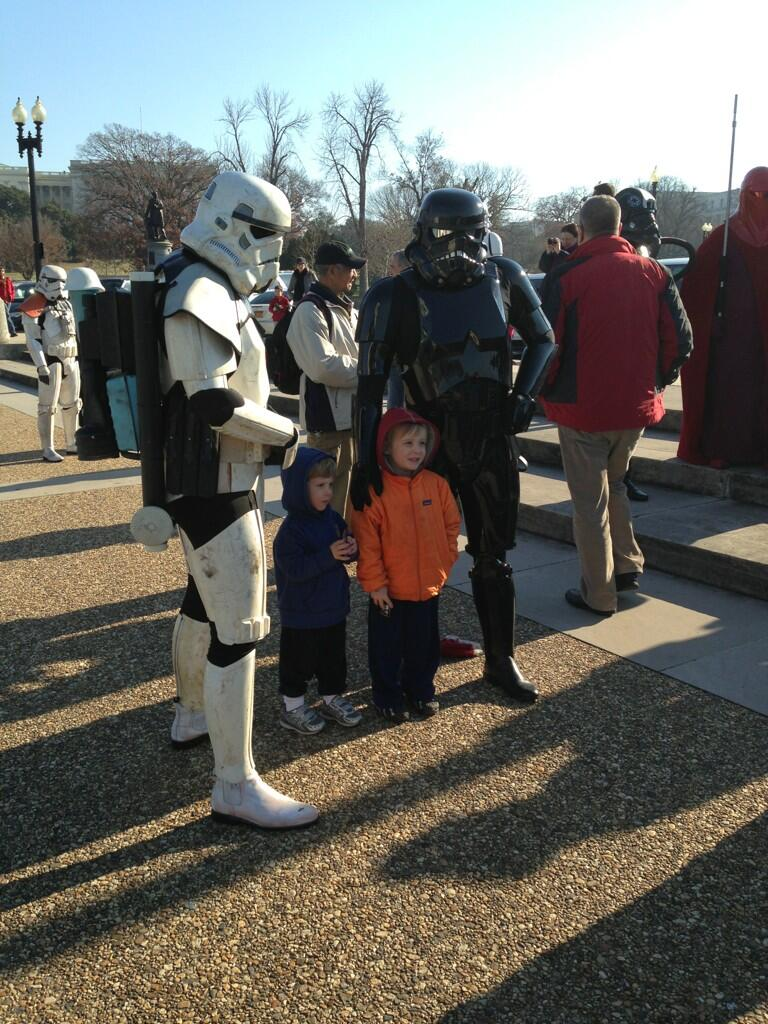 Imperial troopers storm Capitol to raise money