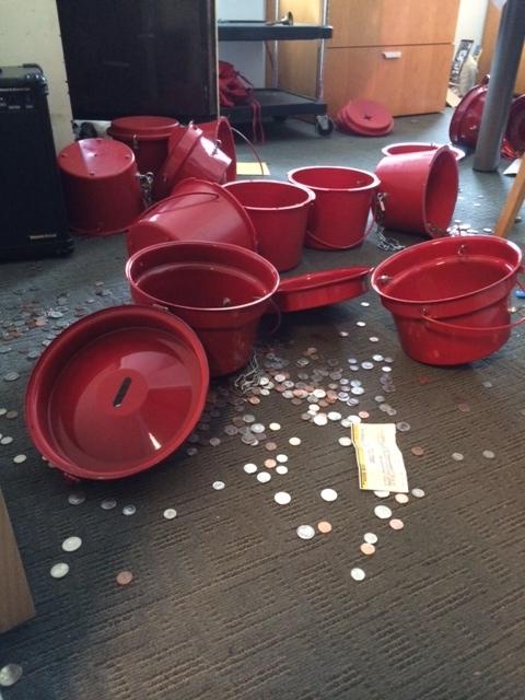 Surveillance footage released in Salvation Army burglary