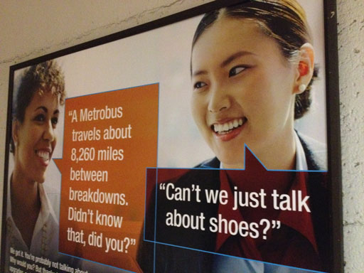 Metro stands by ad women's group calls sexist | WTOP