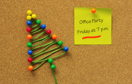 Tips to survive your holiday office party