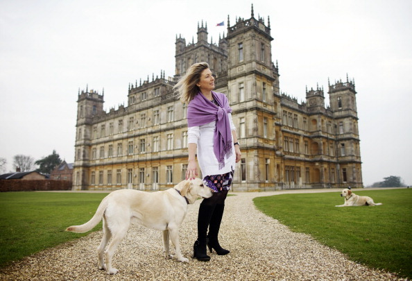 Real-life Countess of 'Downton Abbey' writes castle's history in second book