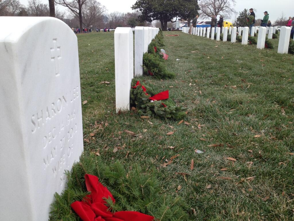 Wreath (WTOP/Jamie Forzato)
