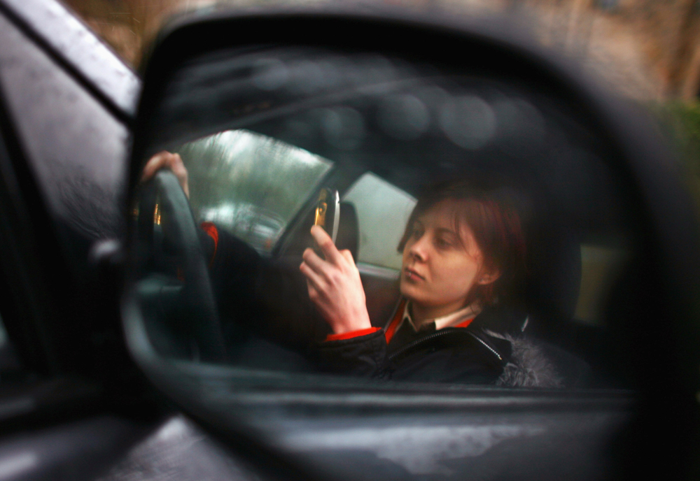 Cellphones, other distractions remain big problem on roads