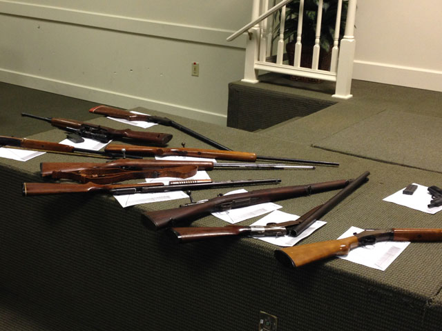 Owners hand in guns, get gift cards