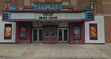 Robbers hold up State Theatre after New Year's Eve bash