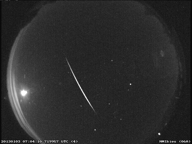First main meteor shower of 2014 hits tonight