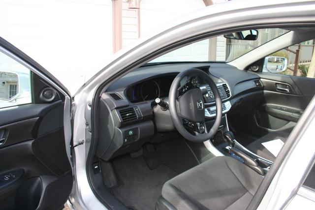 Test driving the 2014 Honda Accord hybrid