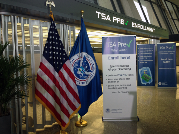 TSA Precheck takes off at Dulles Airport