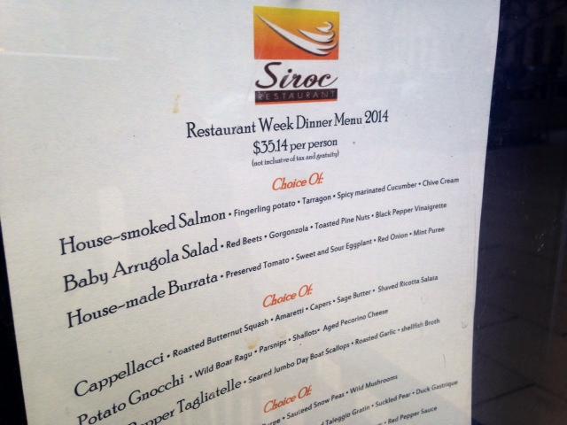 D.C. Restaurant Week breakdown — dining deal or money suck?