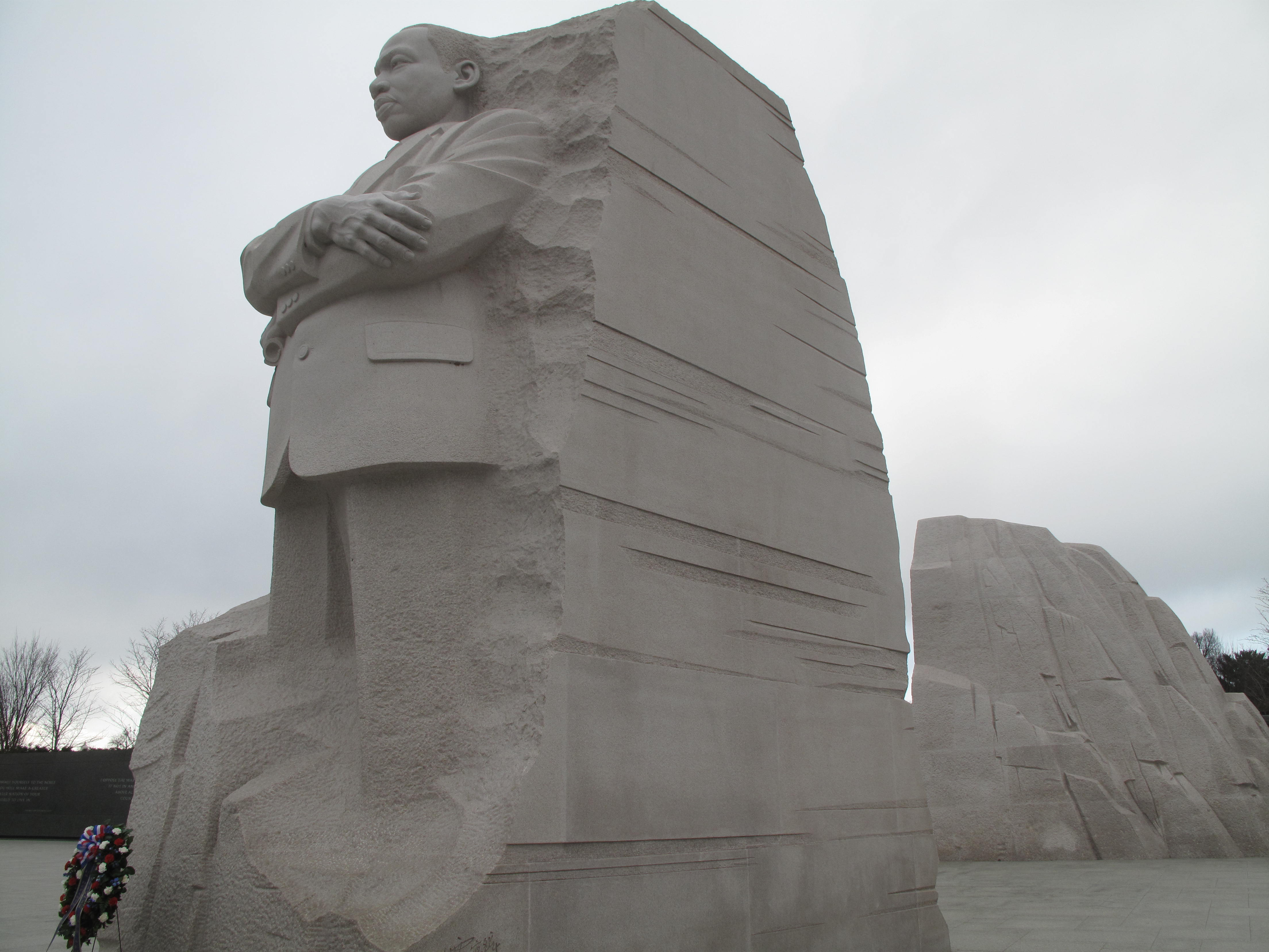 Memorial prepared for Martin Luther King Jr. Day
