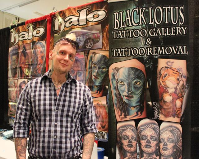 Local Cancer Survivor Turns National Ink Master Photos