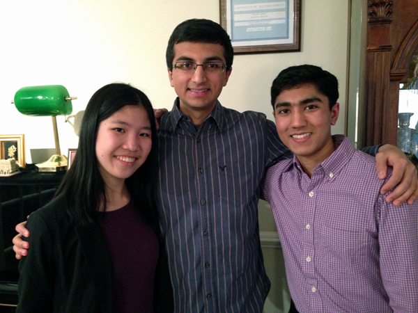 3 Montgomery Blair students finalists in Intel Science Talent Search