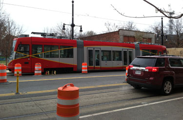 Streetcar service will not begin in 2014