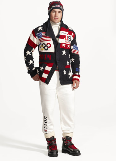 Ralph Lauren unveils Olympic uniforms made in USA