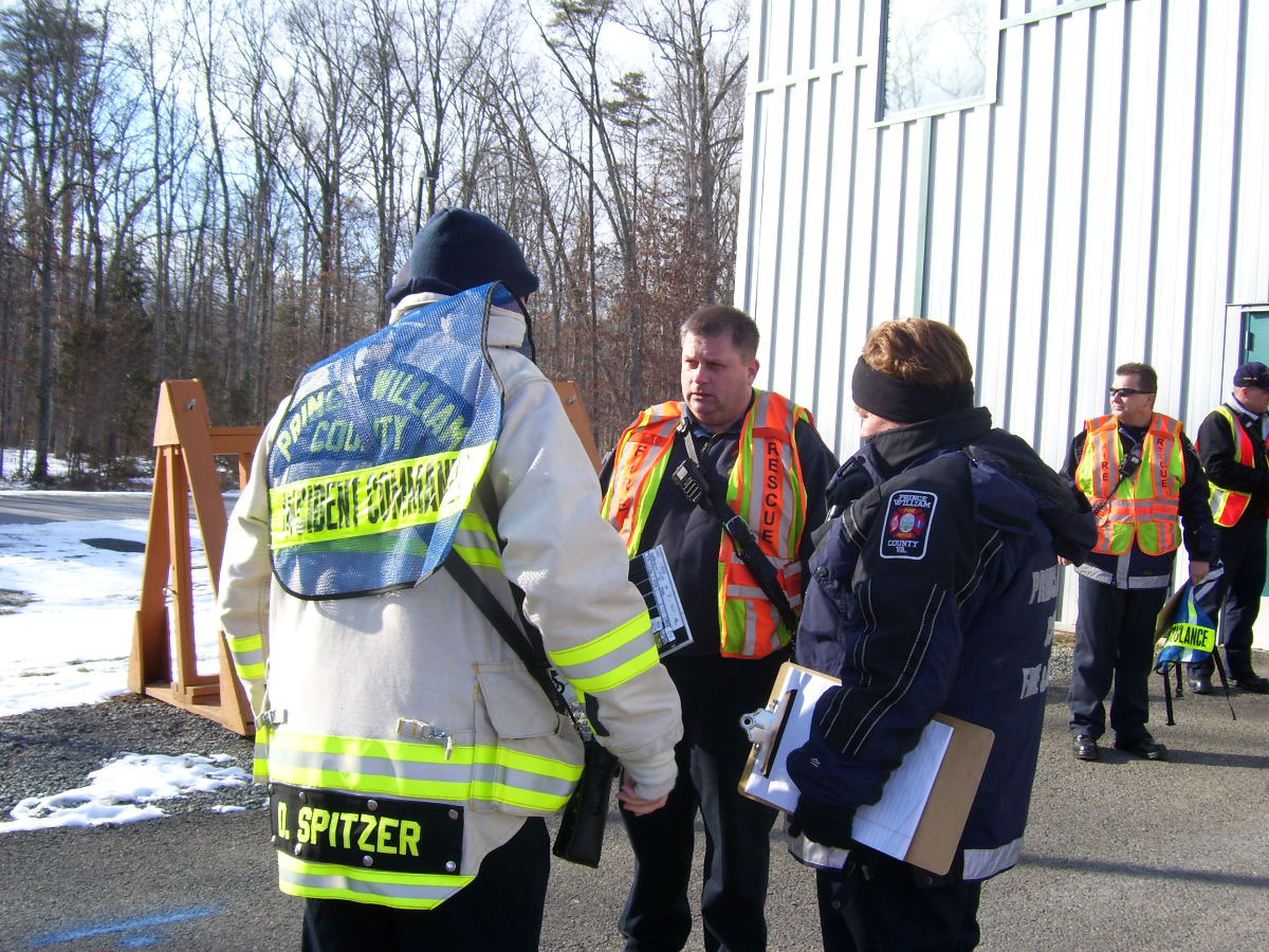 VA. first responders train for mass casualty events